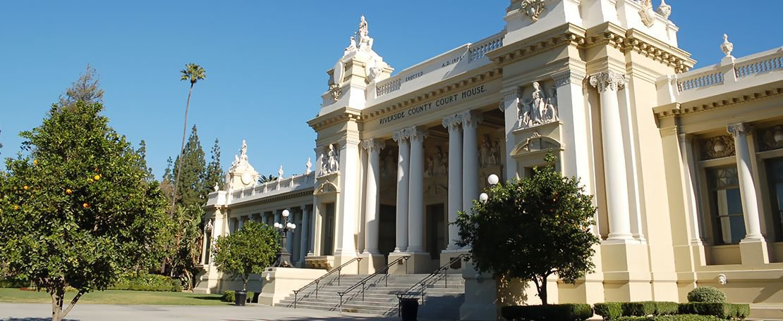 Outdoor View of Riverside County Court House